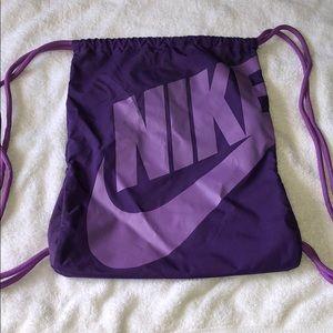 Nike Bags - NIKE drawstring backpack!
